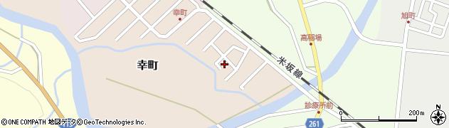 山形県西置賜郡小国町幸町4周辺の地図