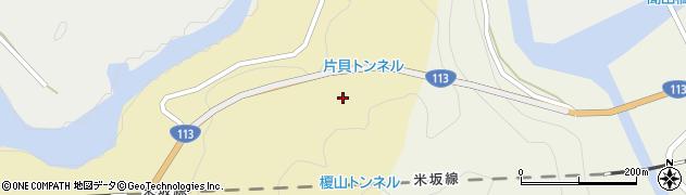 片貝トンネル周辺の地図