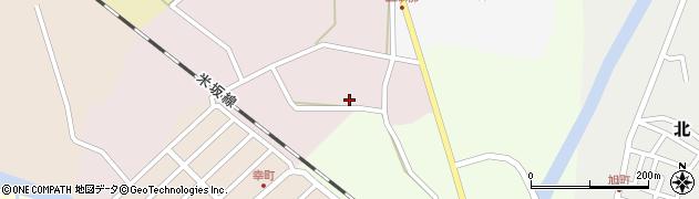 山形県西置賜郡小国町増岡17周辺の地図