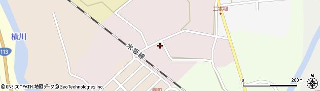 山形県西置賜郡小国町増岡40周辺の地図