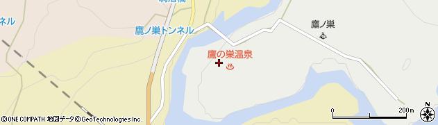 鷹の巣館周辺の地図