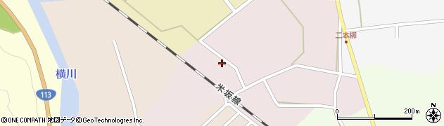 山形県西置賜郡小国町増岡96周辺の地図