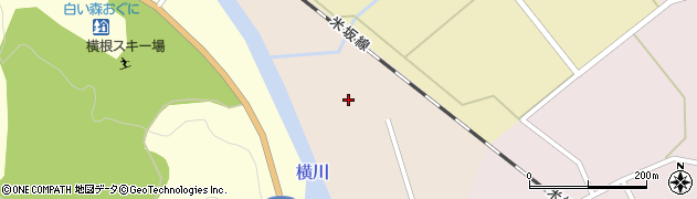 山形県西置賜郡小国町増岡190周辺の地図