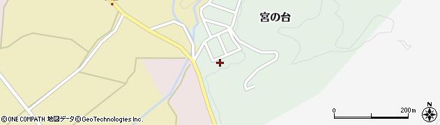 山形県西置賜郡小国町宮の台3周辺の地図
