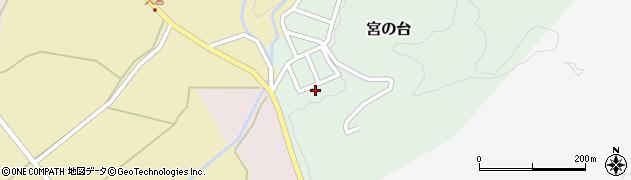 山形県西置賜郡小国町宮の台4周辺の地図