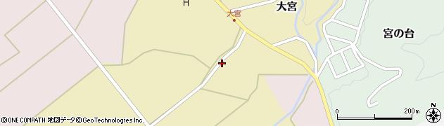 山形県西置賜郡小国町大宮145周辺の地図