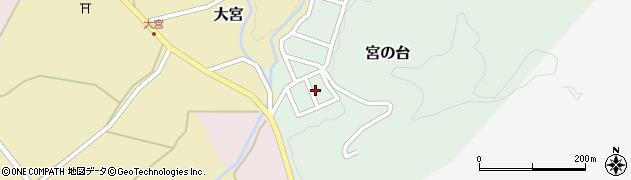 山形県西置賜郡小国町宮の台17周辺の地図