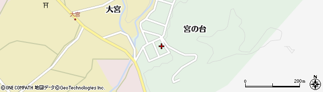 山形県西置賜郡小国町宮の台18周辺の地図