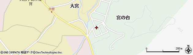 山形県西置賜郡小国町宮の台20周辺の地図