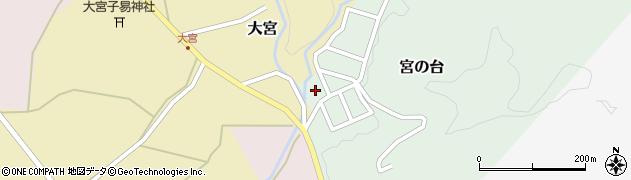山形県西置賜郡小国町宮の台24周辺の地図