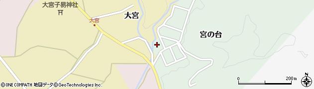 山形県西置賜郡小国町宮の台周辺の地図