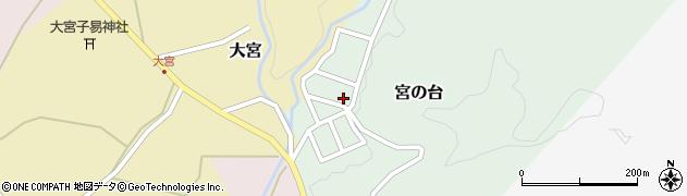 山形県西置賜郡小国町宮の台33周辺の地図