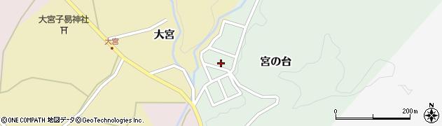 山形県西置賜郡小国町宮の台32周辺の地図