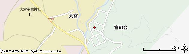 山形県西置賜郡小国町宮の台31周辺の地図
