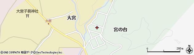 山形県西置賜郡小国町宮の台37周辺の地図