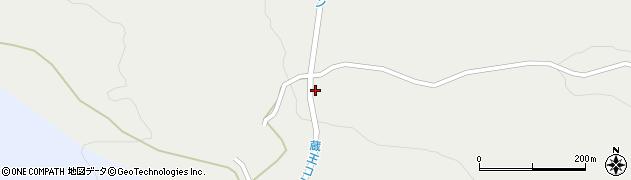 宮城県蔵王町(刈田郡)曲竹(欠山)周辺の地図