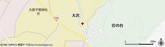 山形県西置賜郡小国町大宮347周辺の地図