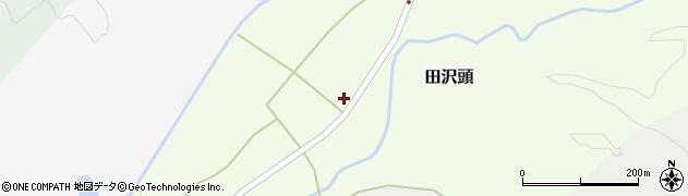 山形県西置賜郡小国町田沢頭253周辺の地図