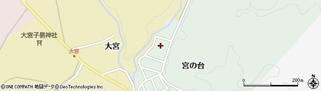山形県西置賜郡小国町宮の台47周辺の地図