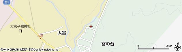 山形県西置賜郡小国町宮の台53周辺の地図