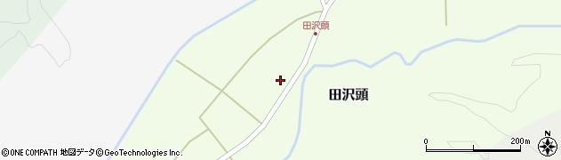 山形県西置賜郡小国町田沢頭202周辺の地図