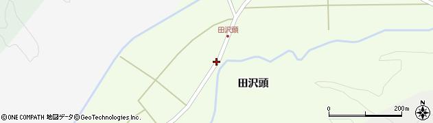 山形県西置賜郡小国町田沢頭165周辺の地図