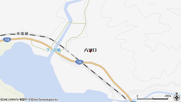 〒959-3227 新潟県岩船郡関川村八ツ口の地図
