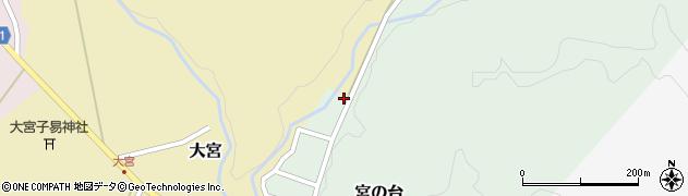 山形県西置賜郡小国町宮の台56周辺の地図