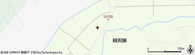 山形県西置賜郡小国町田沢頭188周辺の地図