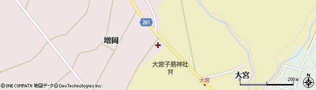 山形県西置賜郡小国町増岡539周辺の地図