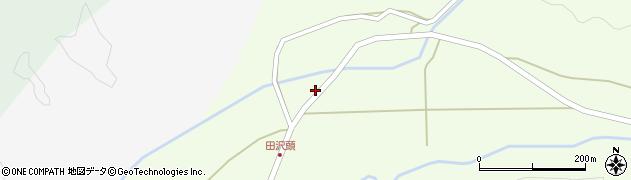 山形県西置賜郡小国町田沢頭131周辺の地図