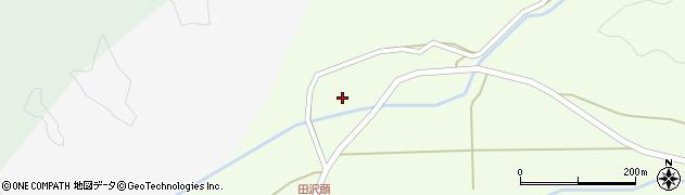 山形県西置賜郡小国町田沢頭418周辺の地図