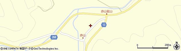 山形県上山市楢下赤山1398周辺の地図