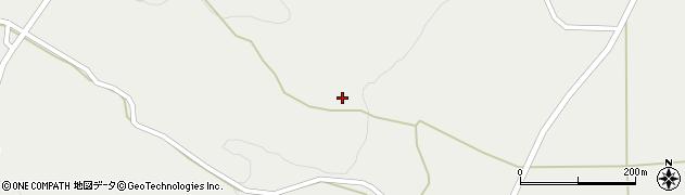 宮城県蔵王町(刈田郡)曲竹(岩蔵寺)周辺の地図