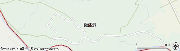 新潟県関川村(岩船郡)鍬江沢周辺の地図