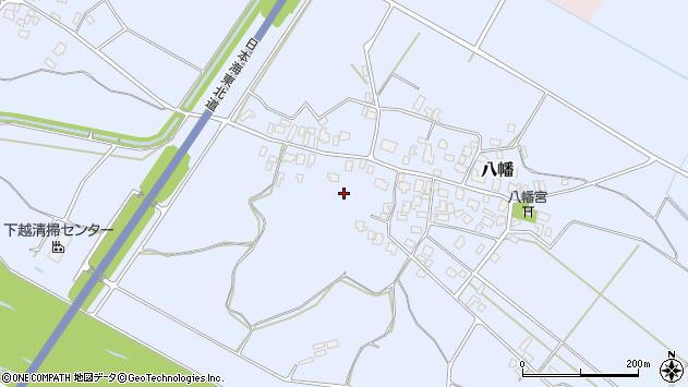 〒959-2606 新潟県胎内市八幡の地図