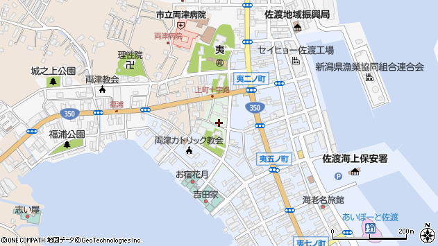 〒952-0012 新潟県佐渡市両津夷新の地図