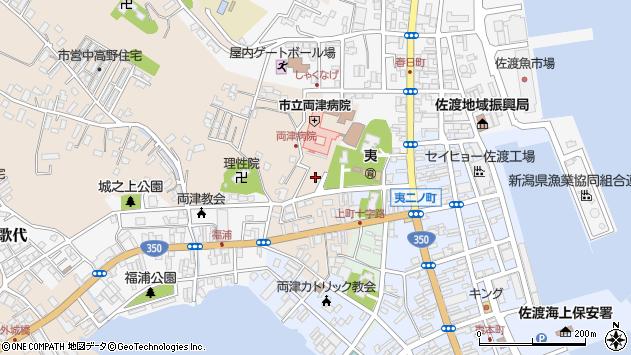 〒952-0007 新潟県佐渡市浜田の地図