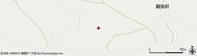 宮城県蔵王町(刈田郡)曲竹(青ノクキ)周辺の地図