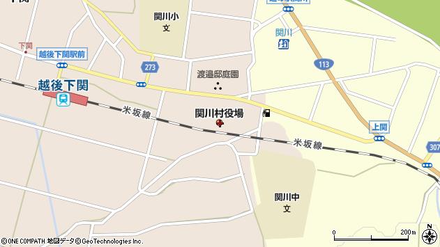 〒959-3200 新潟県岩船郡関川村(以下に掲載がない場合)の地図