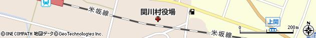 新潟県岩船郡関川村周辺の地図