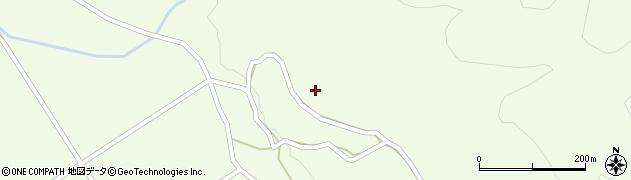 新潟県関川村(岩船郡)沢周辺の地図