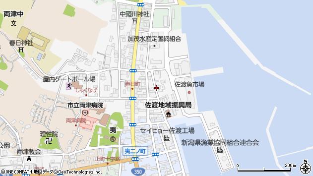 〒952-0006 新潟県佐渡市春日の地図