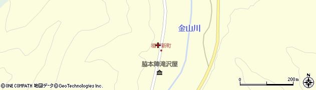 山形県上山市楢下1周辺の地図