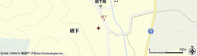 山形県上山市楢下1216周辺の地図