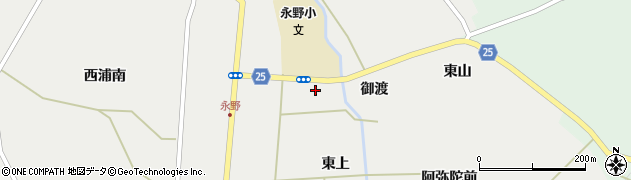 宮城県蔵王町(刈田郡)円田(東浦)周辺の地図