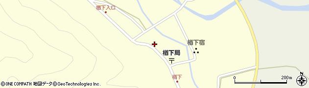 山形県上山市楢下1237周辺の地図
