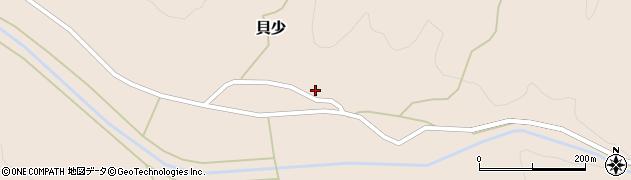 山形県西置賜郡小国町貝少53周辺の地図