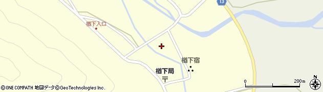 山形県上山市楢下1233周辺の地図