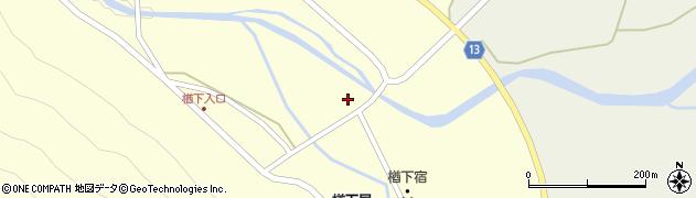 山形県上山市楢下39周辺の地図